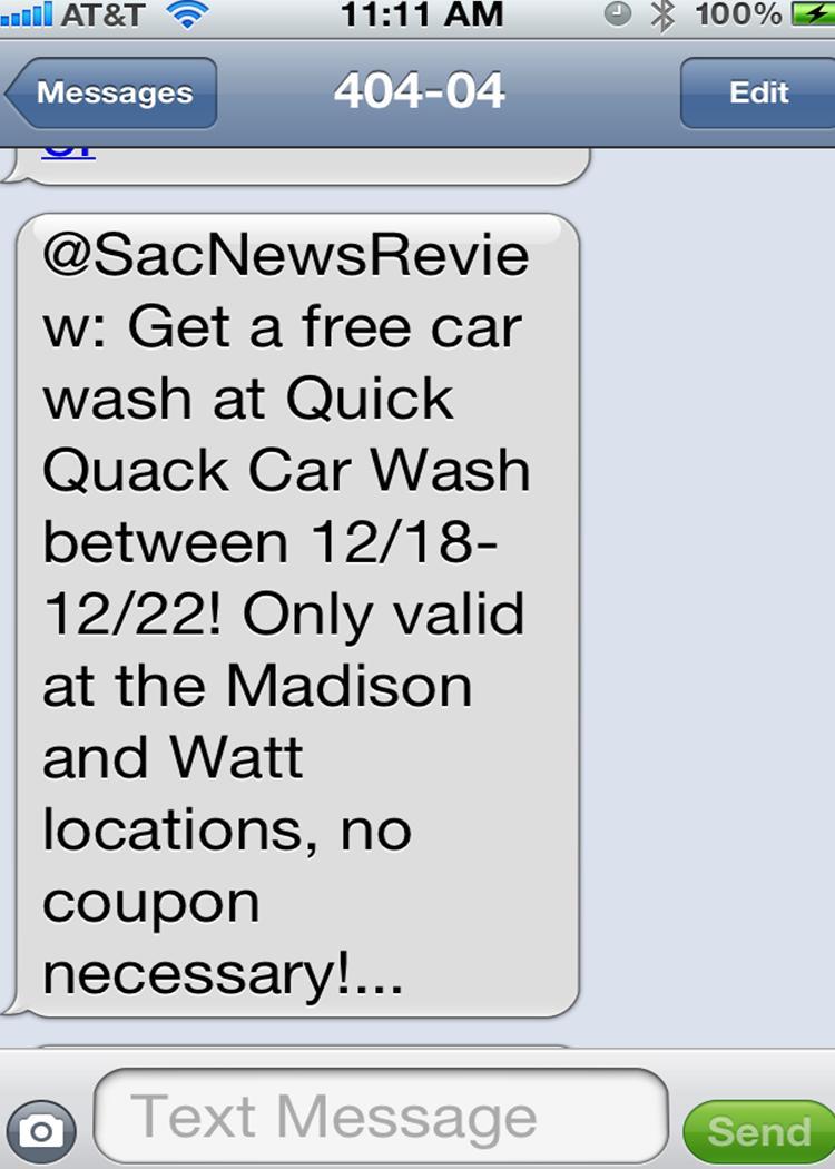 Quick quack coupons