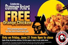 orange chicken june 21